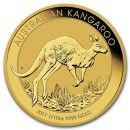 Nugget / Kangaroo, 1/10oz Gold, 2017