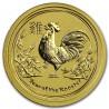 Lunar Rooster, 1/20 oz., Gold 2017