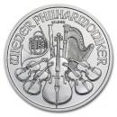 Austrian Vienna Philharmonic 1oz. Silver, 2012