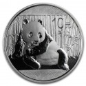 China Panda  10 Yuan  1 oz  Silver 2015