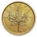 Canadian Maple Leaf, 1/2 oz Gold, 2016