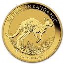 Nugget / Kangaroo, 1oz Gold, 2017