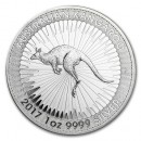 Australian Kangaroo, 1 Dollar, 1 oz. Silver 2017