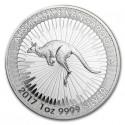 Australian Kangaroo 1 Dollar 1 oz Silver 2017