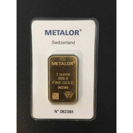 1oz Gold Bullion / Bar  Valcambi