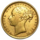 Full Sovereign Young Victoria Gold, 1871-1885